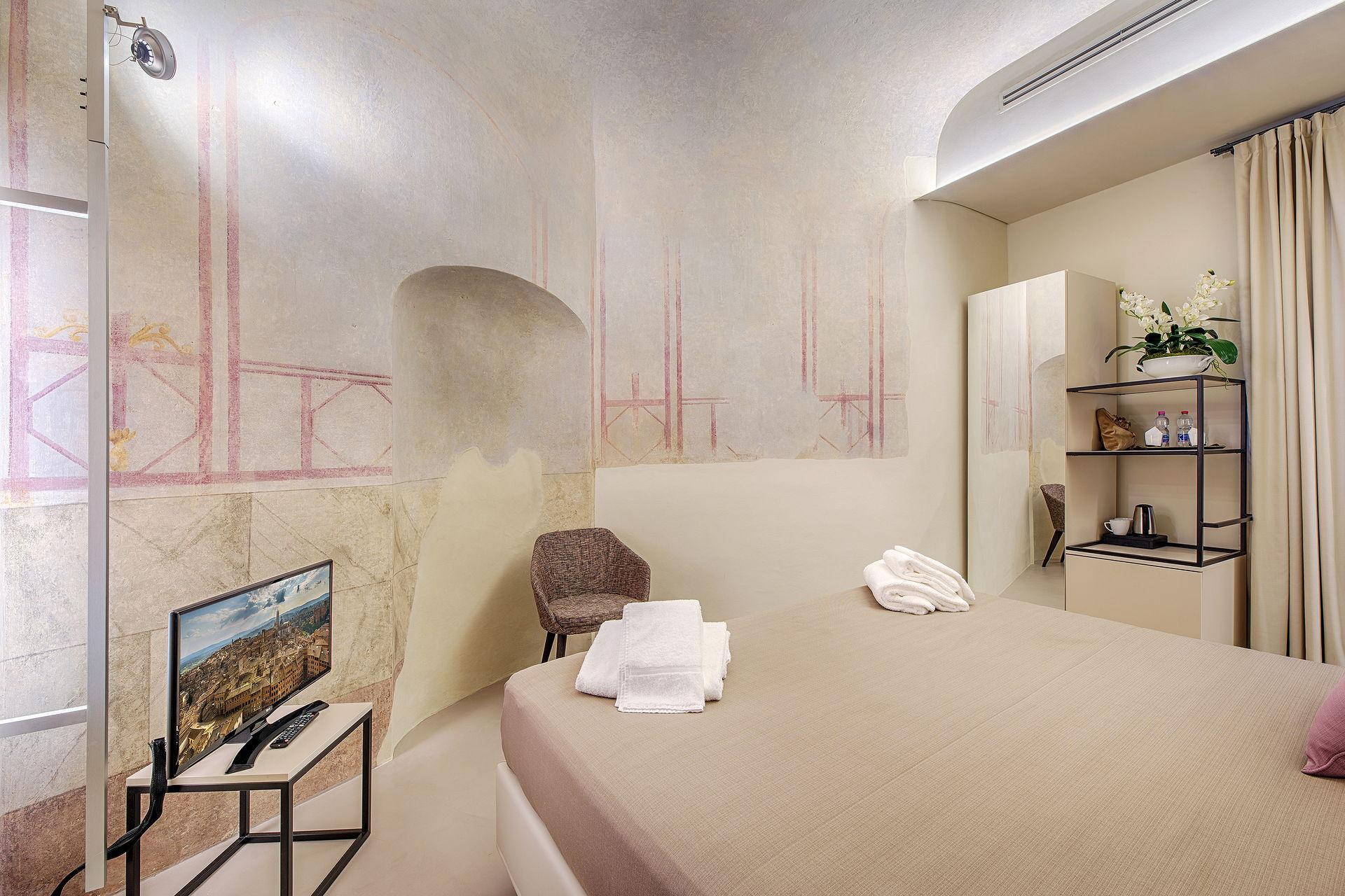 Residenza d'epoca Le Aquile - Bed and Breakfast luxury nel centro di Siena - giardino d'inverno 3